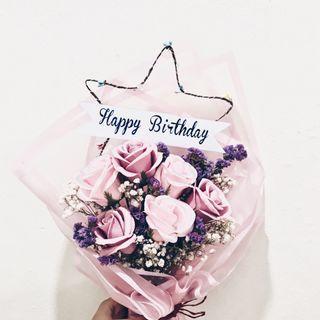 🚚 Birthday Soap Flower Bouquet 💐