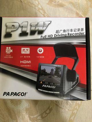 Papago 行車記錄儀p1w