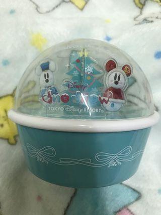 🚚 Disney 迪士尼 35週年紀念 雪球置物盒/零食盒