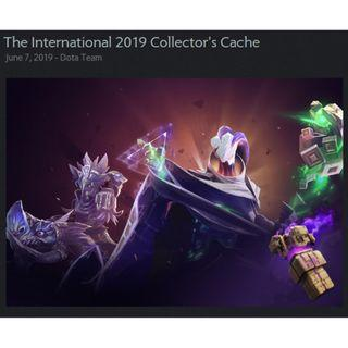 Dota 2 The International 2019 Collector's Cache Sets