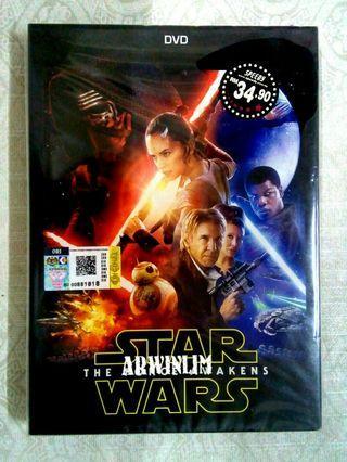 ORIGINAL NTSC STAR WARS The Force Awakens (3VCD)