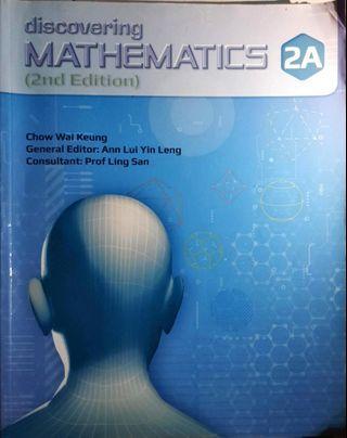 🚚 Discovering Mathematics 2A