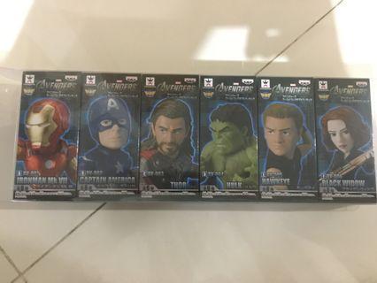 Marvel avengers 復仇者聯盟 ironman 美國隊長 雷神 hulk 鷹眼 黑寡婦