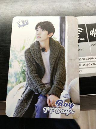 王源's yes card