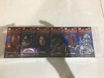 Marvel avengers 復仇者聯盟 ironman 美國隊長 hulk 黑寡婦 幻視 奧創