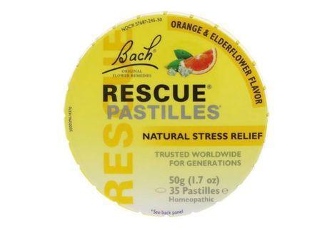 預購 Bach 花精療法 緩解壓力口含錠 橙子和接骨木花35片