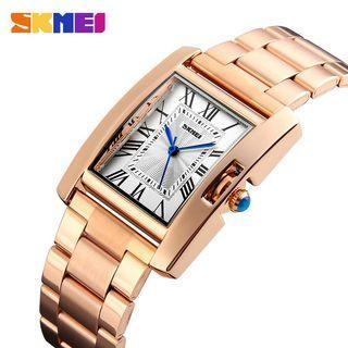 SKMEI original 100% new Ladies Stainless Steel Strap Watch Waterproof Watches