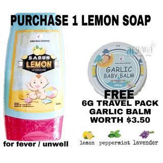 🚚 INSTOCK SABUN LEMON (LEMON SOAP) 110ML