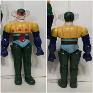 70年代卡通 金剛飛天鑽 磁力鐵甲人 非萬能俠 電磁俠 Popy 超合金 大膠