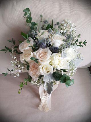 Bridal Bouquet, Fresh Flowers
