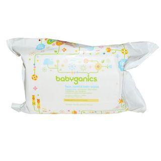 BabyGanics Face, Hand & Baby Wipes 無香味濕紙巾 100塊