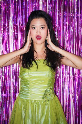 Green Prom Dress - 80s Costume