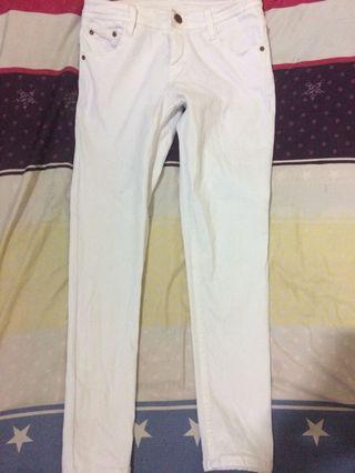 Celana jeans white