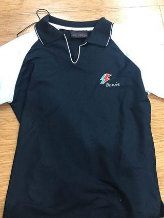 vintage bowie polo shirt