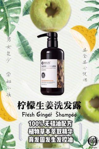 Kumiho Fresh Ginger Shampoo