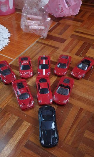 Shell ferrari limited edition full set
