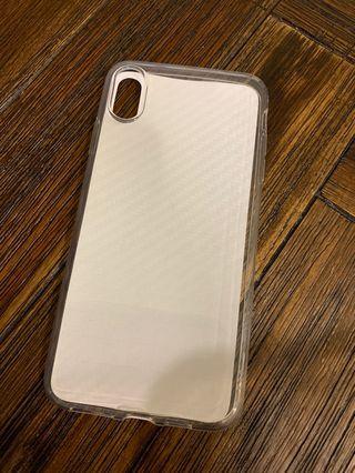 IPhone XS Max transparent case