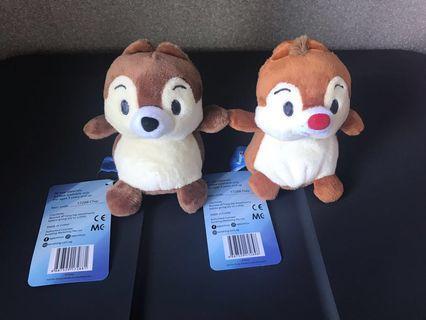 Chip & Dale Beanie Plush Toy