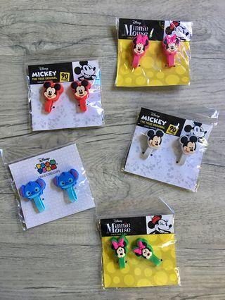 Disney Characters Cable Cord Clips