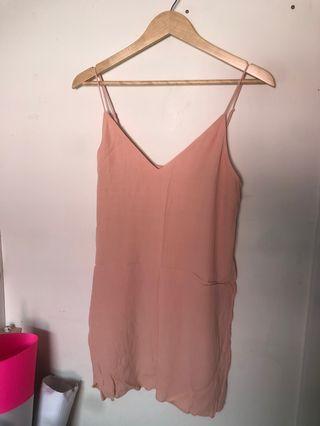 Wilfred Free Peach Pink Dress