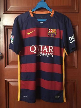 Barcelona Home Jersey #8 Iniesta