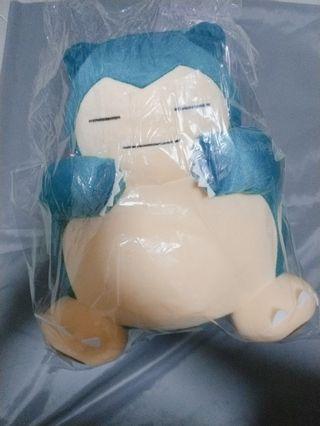 <Toreba> Authentic Snorlax Sun & Moon Plush Toy