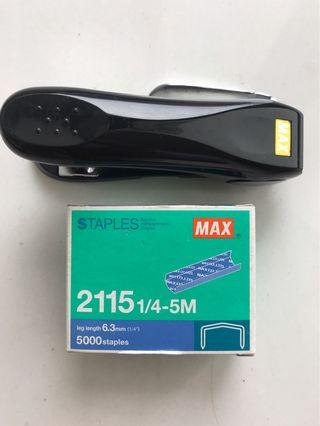 Max Stapler. Japanese Made.