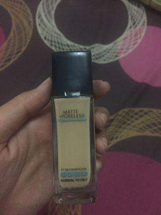 Maybelline Fit Me Foundation, Normal to Oily, shade 220 (natural beige)
