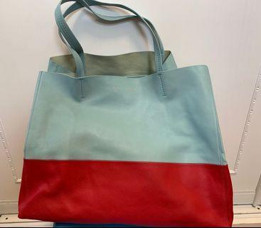 Celine Tote Bag Bi Cabas