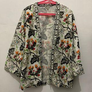 Batik outer outwear luaran