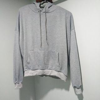 Unisex Oversized Grey Hoodie