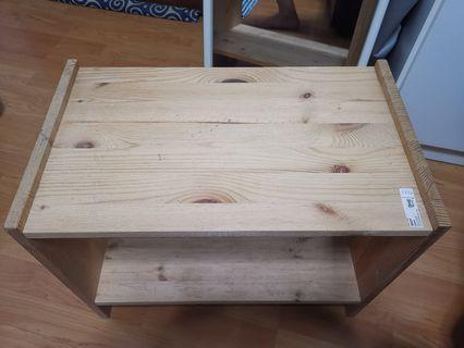 (Used) Ikea Rast Wooden Shelf