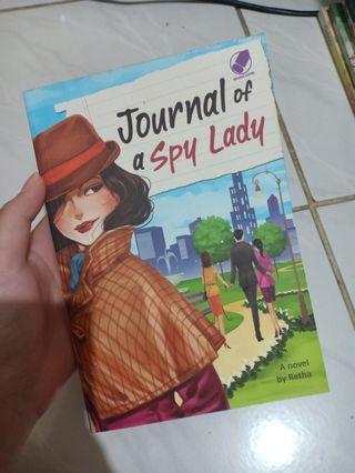 "NOVEL ""Journal of a Spy Lady"" - Retha + TULISAN PENULIS"