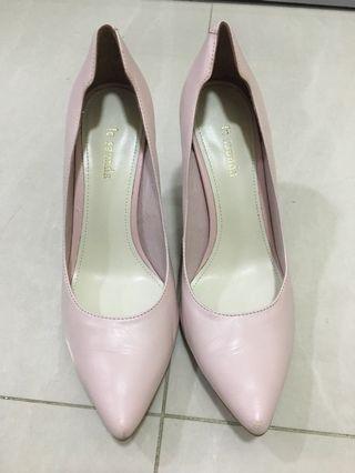 女裝粉色高跟鞋