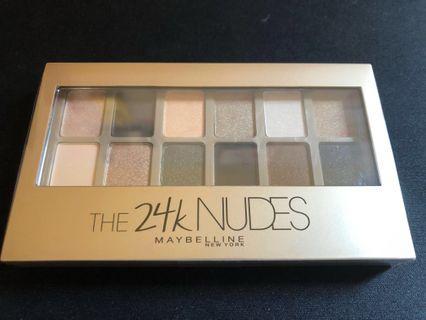 Maybelline 24K Nudes Palette [promo]