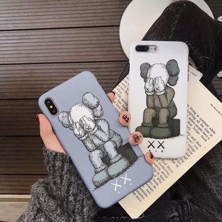 IPHONE CASINGS: KAWS CASE XX AIR IN GREY AND WHITE