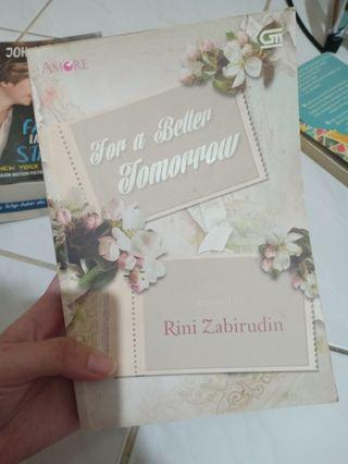 "NOVEL ROMANCE ""For a Better Tomorrow"" - Rini Zabirudin"