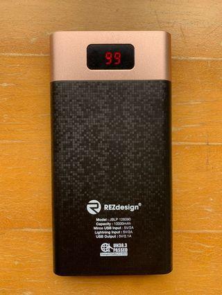 REZdesign 10000mAh powerbank 5V 2A