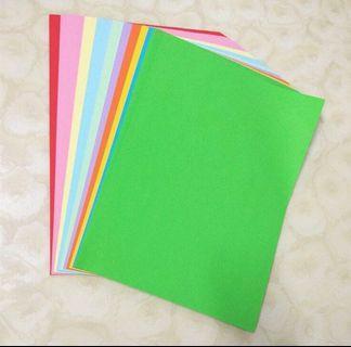A4 75gsm 10 Color copier / craft paper (100 pcs)