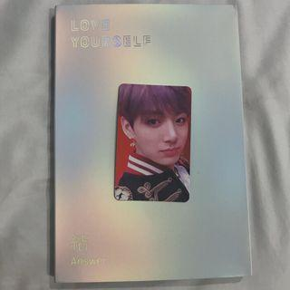 wts fast! bts answer album S version with jungkook photocard
