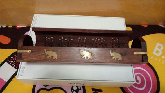 全新木製香薰盒