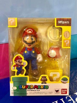 Bandai SHFiguarts SHF super Mario shf 孖寶兄弟 瑪利奧 模型 figures