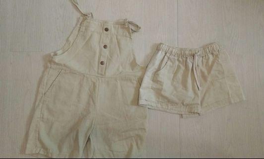 短褲(米色)