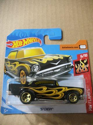 Hot Wheels 57 Chevy 2 pcs left