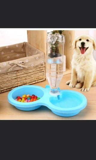 Pets 2 in 1 drinking bowl