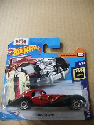 Hot Wheels Cruella De Vil