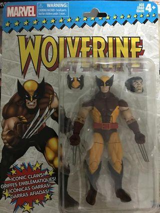 Marvel vintage wolverine