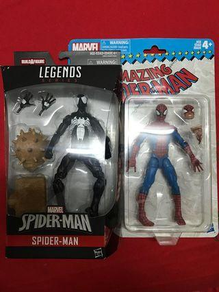 Marvel legends n vintage spider-man
