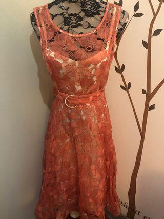 NEW Phase Eight Pink Evening Dress