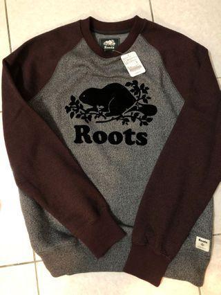 🚚 Roots學院風 大學針織衣